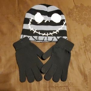 Beanie and gloves